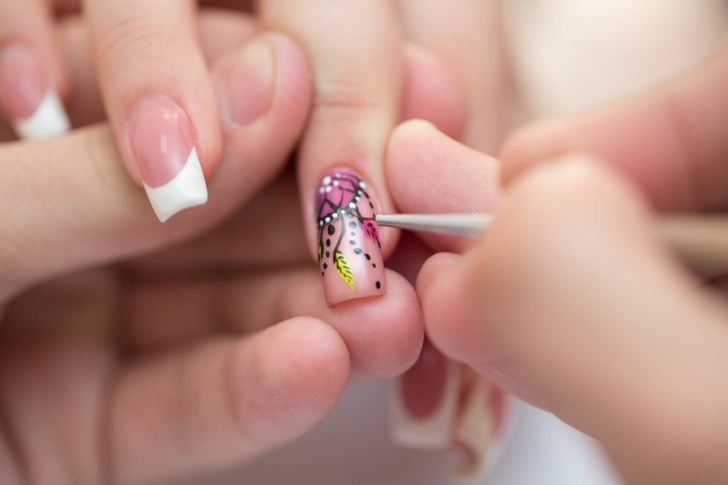 decorazione nail art