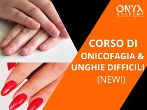 ricostruzione unghie onicofagiche onyx academy